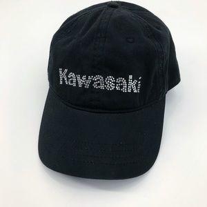 Kawasaki Rhinestone Baseball Hat